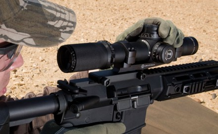 Tom Beckstrand examines the qualities of the Leupold Mark 8 CQBSS and how it can add value to your rifles.