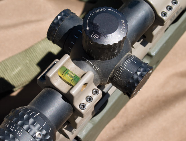 The level is an integral part of long-range shooting. Without leveling your reticle, it's impossible to know whether your misses are due to botched wind calls or a misaligned reticle.