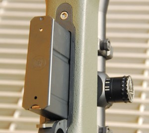 The Tac-338 comes with an Accuracy International five-round detachable box magazine. AI has been making these magazines for quite some time. They are the best mags available.