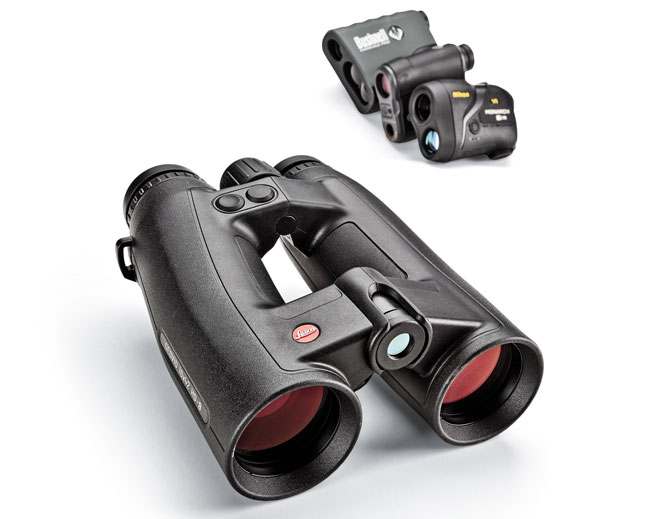 Rangefinding technology is merging with scopes and binoculars. The new Lecia Geovid HD-B 10x42mm binocular is an example of what this evolution has produced. This is a multifunction ballistic computer optimized within supreme optical glass.