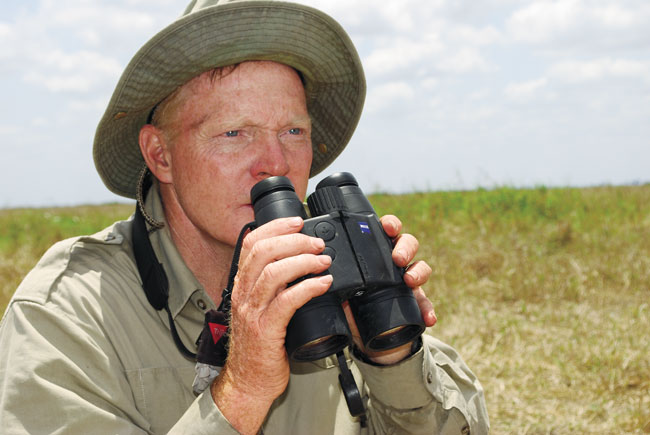 The author has used Zeiss' Victory RF 10x45 laser rangefinder/binocular a great deal. It's heavier and bulkier than a stand-alone binocular, but having both capabilities in the same tool is an advantage, especially if you're hunting alone.