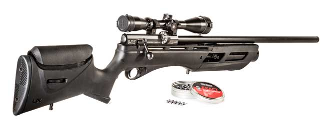 New Gauntlet Air Rifle is Amazingly Accurate and Sleek