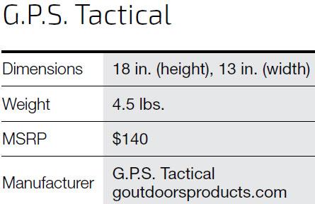 G.P.S.-TACTICAL'S-RANGE-BACKPACK-SPECS