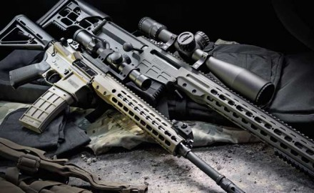 Modularity and simplicity separate the Barrett MRAD .338 Lapua and REC7 5.56 NATO from their peers.