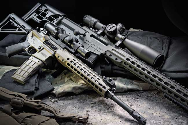 Raise the Bar: Barrett MRAD .338 Lapua Mag. and REC7 5.56 NATO