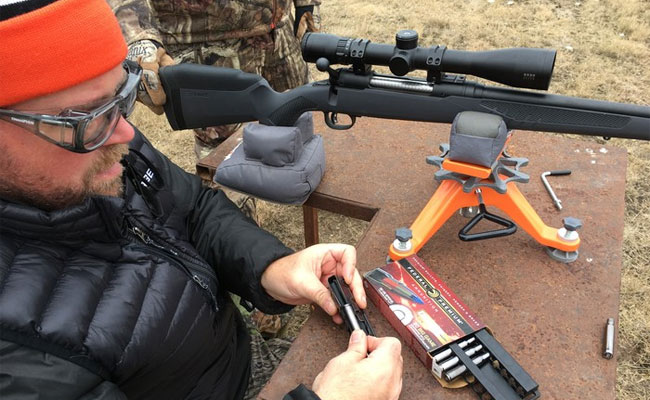 Savage Model 110 AccuFit Allows DIY Custom-Fit Stock Adjustments