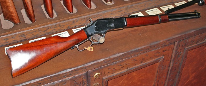 Cimarron 1873 U.S. Marshall Carbine Rifle (Philip Massaro photo)