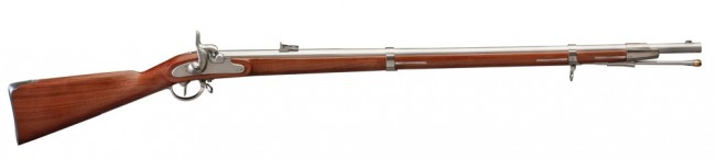 Davide Pedersoli 1854 Lorenz Rifle (Photo courtesy of Davide Pedersoli)
