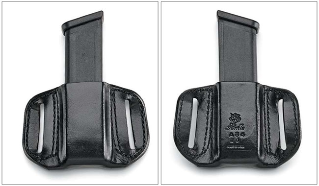 Carrying at least one spare magazine is important. Keeping it oriented properly and reachable is just as critical of a consideration. DeSantis' The Reliant mag pouch comfortably gets the job done. $50