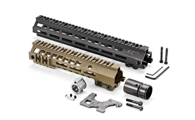 Geissele Super Modular Rail Mk8 13-inch ($225) and Mk13 9.5-inch ($250) for AR-type carbines are coveted SOPMOD enhancements — even within the U.S. Special Operations community.