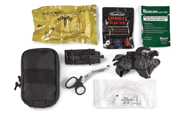 A Medical Kit For The Shooting Range