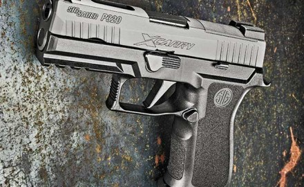 Carrying the same genetics and size of the new M18 service pistol variant, the SIG Sauer P320 X-Carry provides refinement to the striker fired genre.