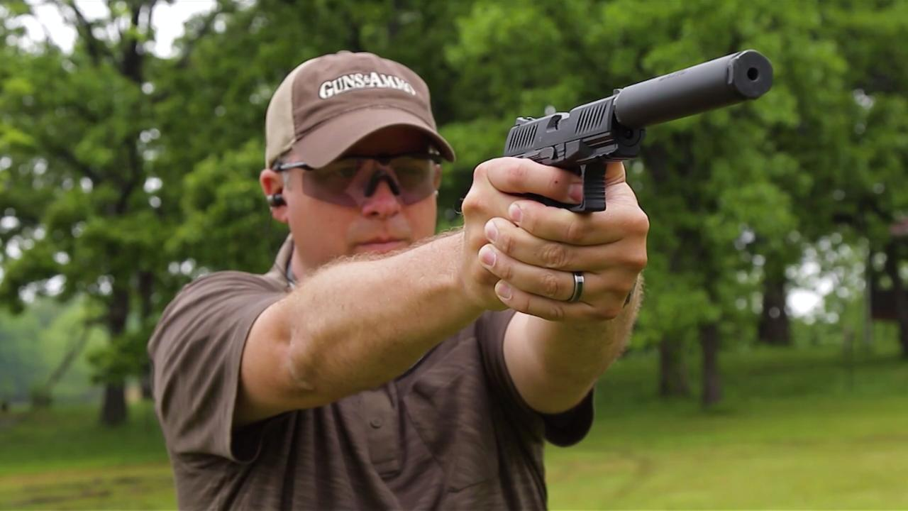 Walther Suppressor-Ready .22 Pistols