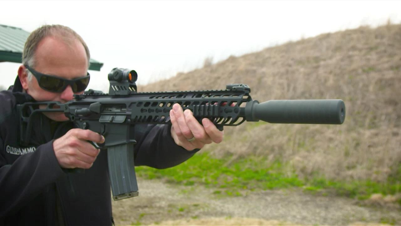 Suppressors 101: SIG Sauer Family of Suppressors