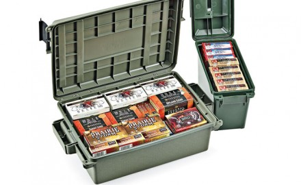 MTM Case-Gard offers storage solutions for storage and transportation of ammo and other gear.