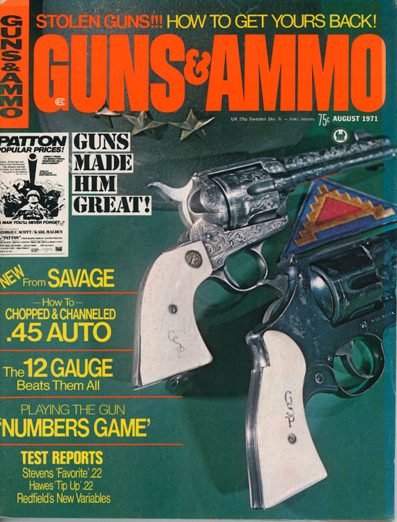 August 1971 Issue of Guns & Ammo