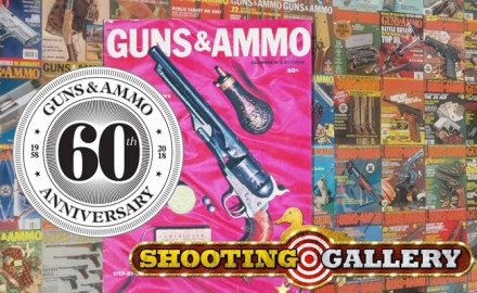 Outdoor Channel's hit show Shooting Gallery pays tribute to the 60th Anniversary of Guns and Ammo.