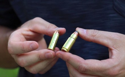 James Tarr talks with Jim Tertin of Magnum Research about their new .44DE cartridge.
