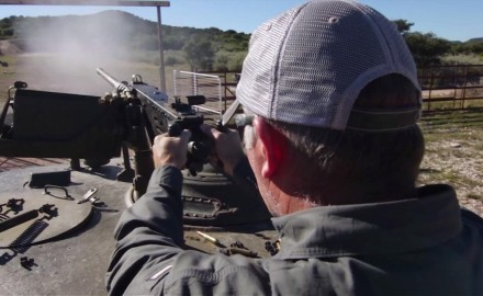 Tom Beckstrand discusses and fires the legendary .50 BMG M2HB designed by John Browning.