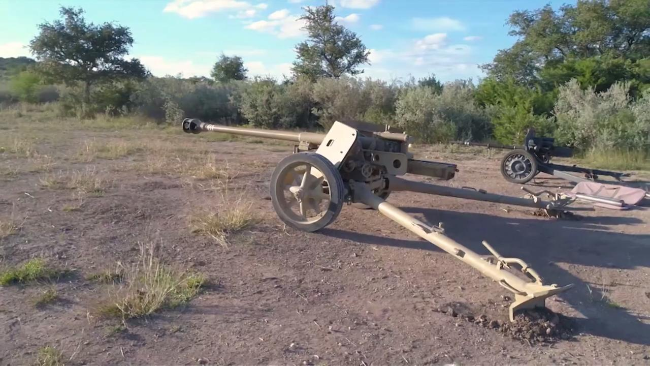 Drivetanks.com: 75MM PAK 40 Anti-Tank Gun