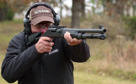 Benelli has done a special run of tactical 12-gauge shotguns that replicates the US Marines model.