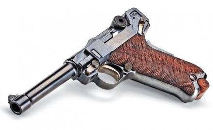 Based on the original 1907 design, Lugers in .45 ACP are now available from Lugerman.com. $5,795