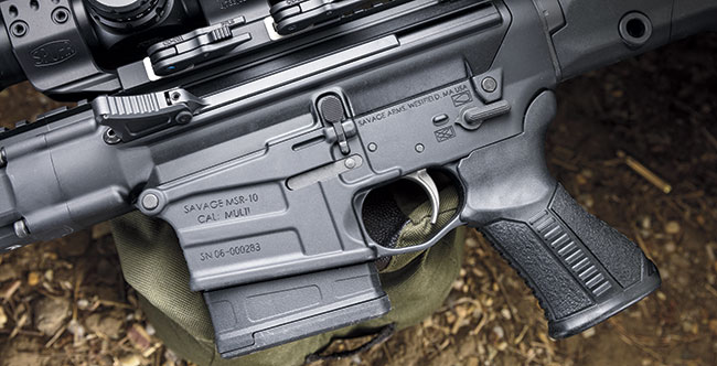 The MSR 10 makes use of forged receivers that have several enhancements.