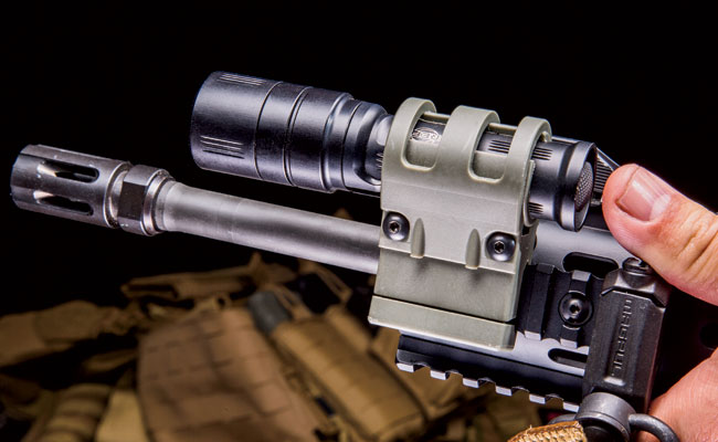 Know your light and its intended purpose. Forcing handheld lights into firearm-mounted roles can make for a less effective overall package, but it can be accomplished using a quality mount.