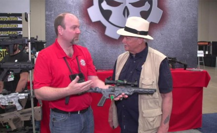 Michael Bane met with Paul Reavis of Gear Head Works at NRA 2018 to take a look at the Tailhook pistol brace.