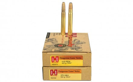 The Hornady DGX Bonded bullet has big-bore bullet technology for the most dangerous game.