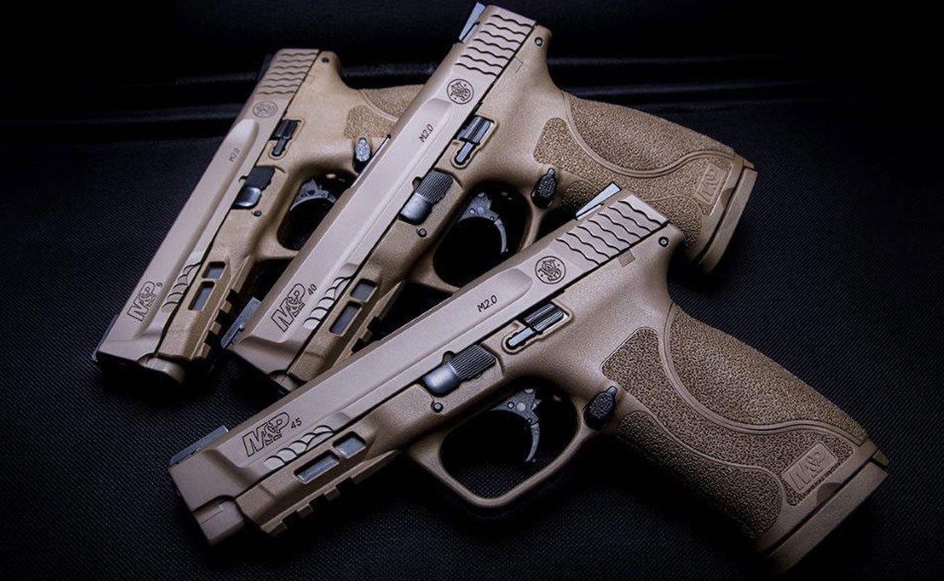 New M&P45 M2.0 in FDE features TRUGLO TFX Sights