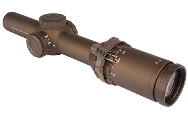SIG SAUER TANGO6 1-6x24 Riflescope Selected for US Army Squad Designated Marksman Rifle