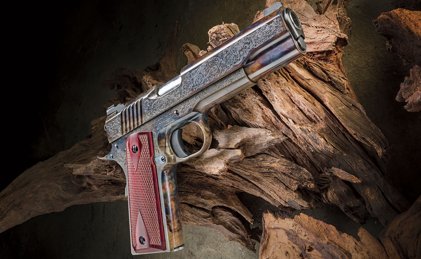 Standard Manufacturing's 1911 Case Colored #1 Engraved