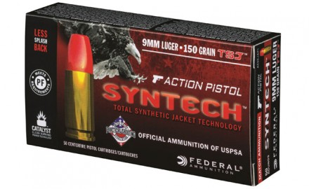 Federal Ammunition introduced the all-new Syntech Action Pistol, the official ammunition of the USPSA.