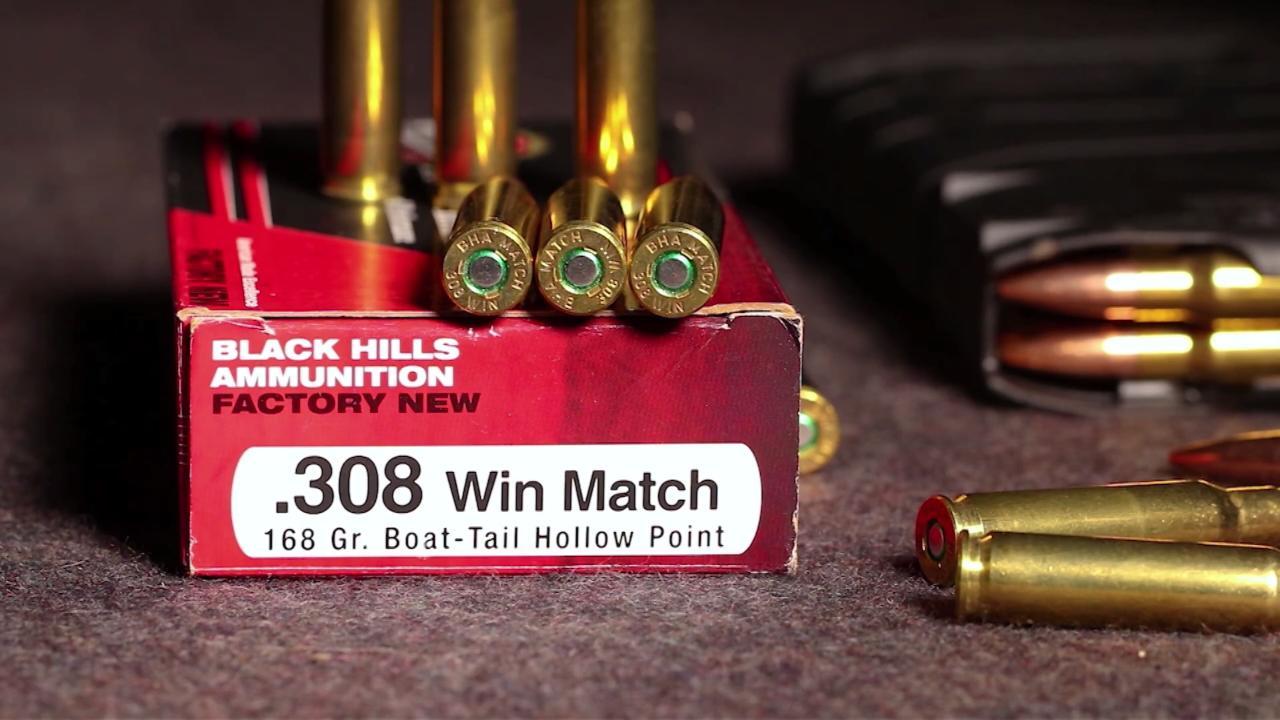 Black Hills  308 WIN  Match Ammo