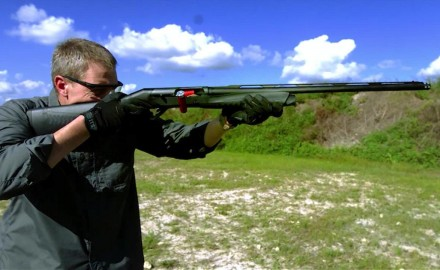 James Tarr and Patrick Sweeney take a look at the recoil of a shotgun in super slow motion.