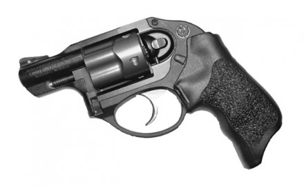 Ruger LCR with Rogers Enhanced Grip (Photo courtesy of DownRange.TV)  On this week's Down Range