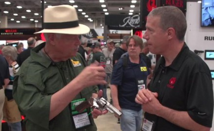 Michael Bane stopped by the Ruger booth at NRA 2018 to take a look at Ruger's 10mm revolvers, the GP100 and Super Redhawk.