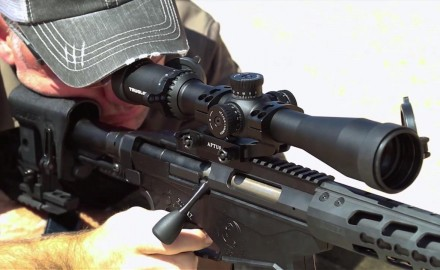 Patrick Sweeney and Tom Beckstrand discuss the features of TruGlo's Eminus  Riflescope.