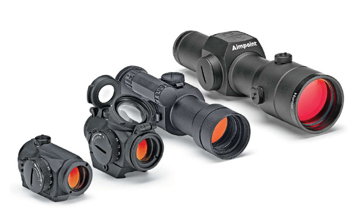 Aimpoint Reflex Sights are always quick on target.
