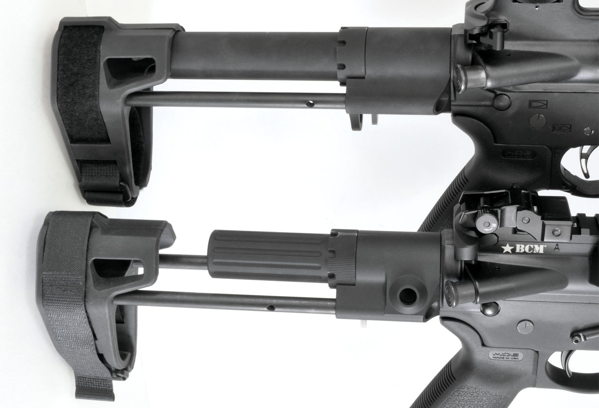 Fully Braced With AR-15 Pistols