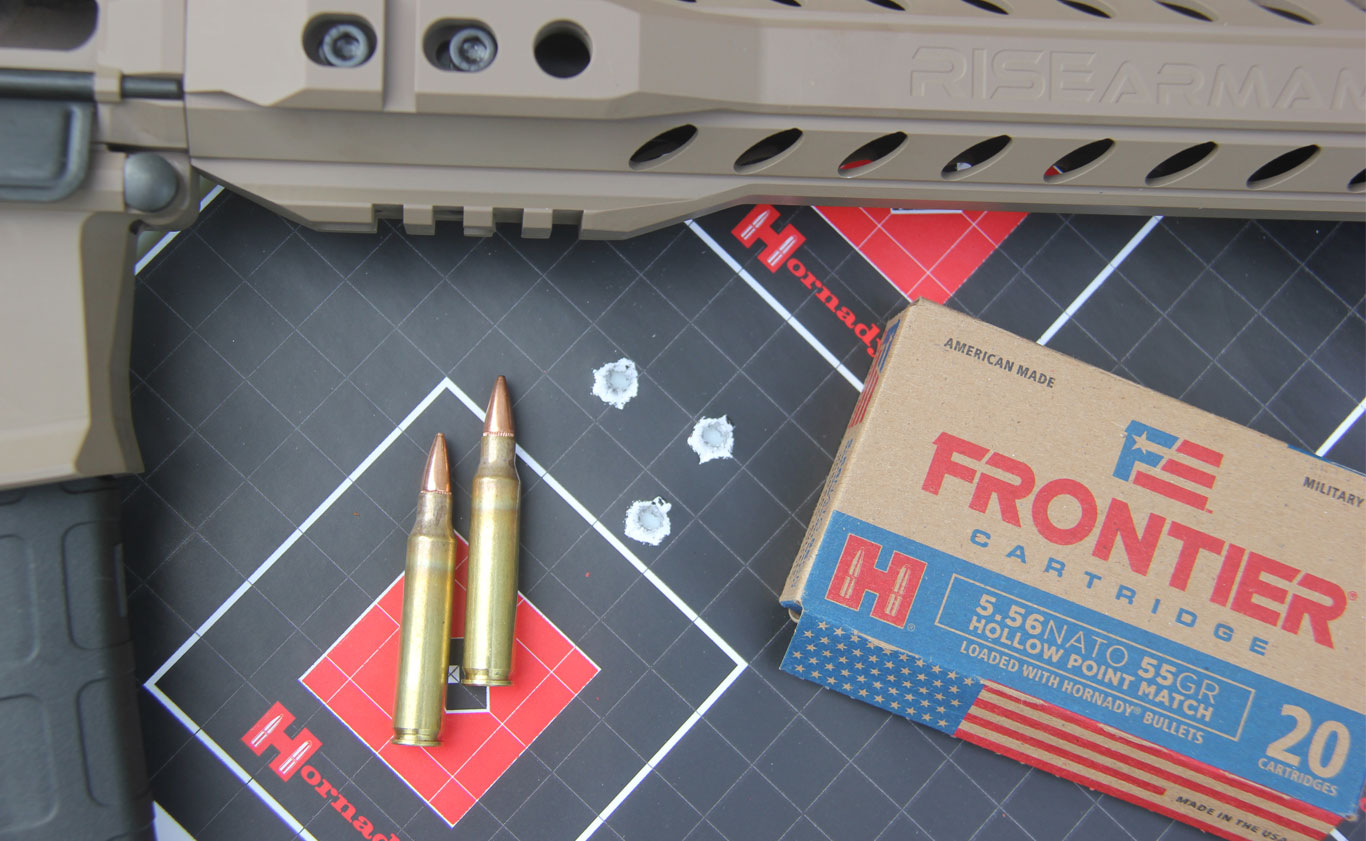 5.56 NATO 55-gr. Hollow Point Match