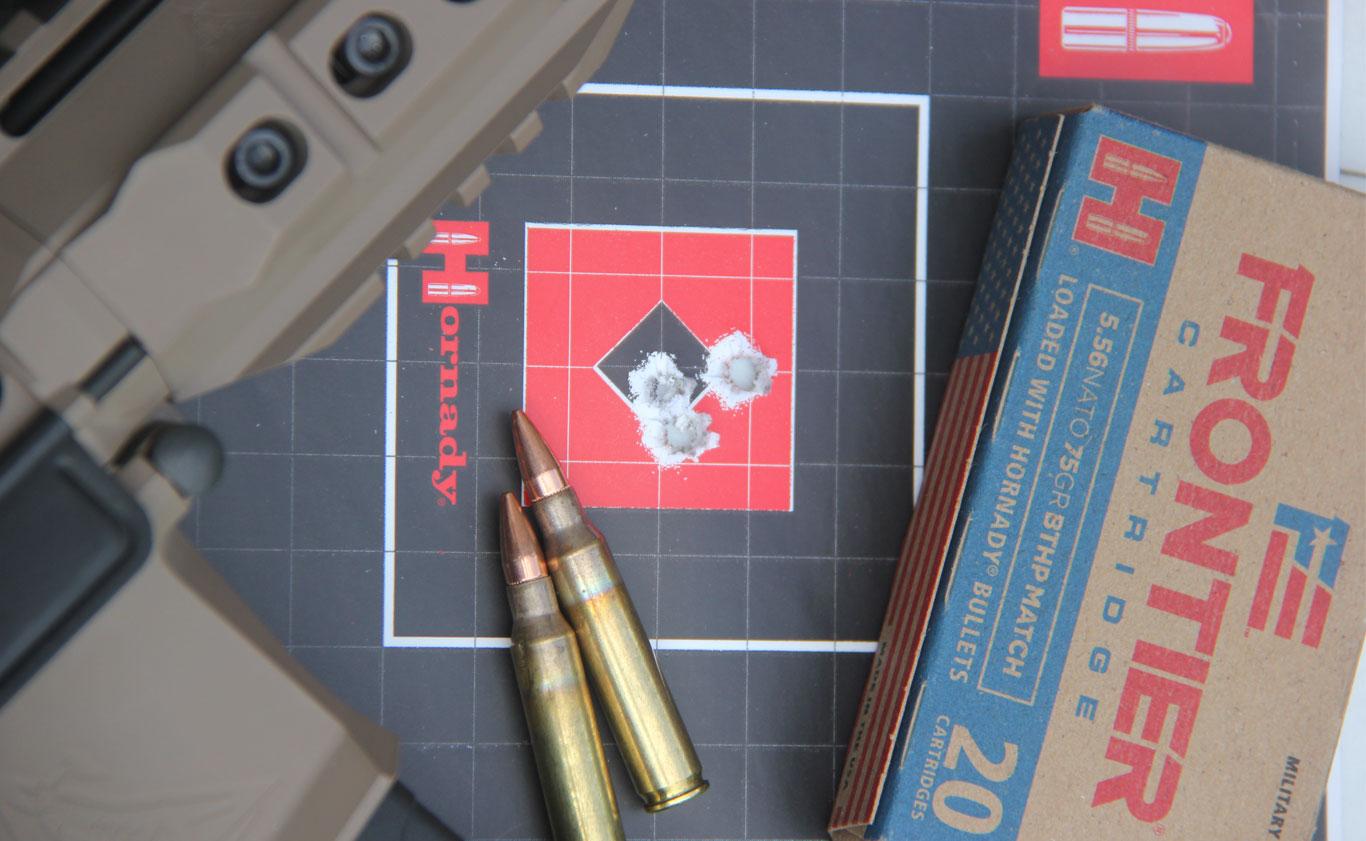 5.56 NATO 75-gr. BTHP Match