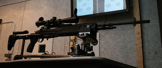 How the U S  Army Builds the M14 EBR-RI