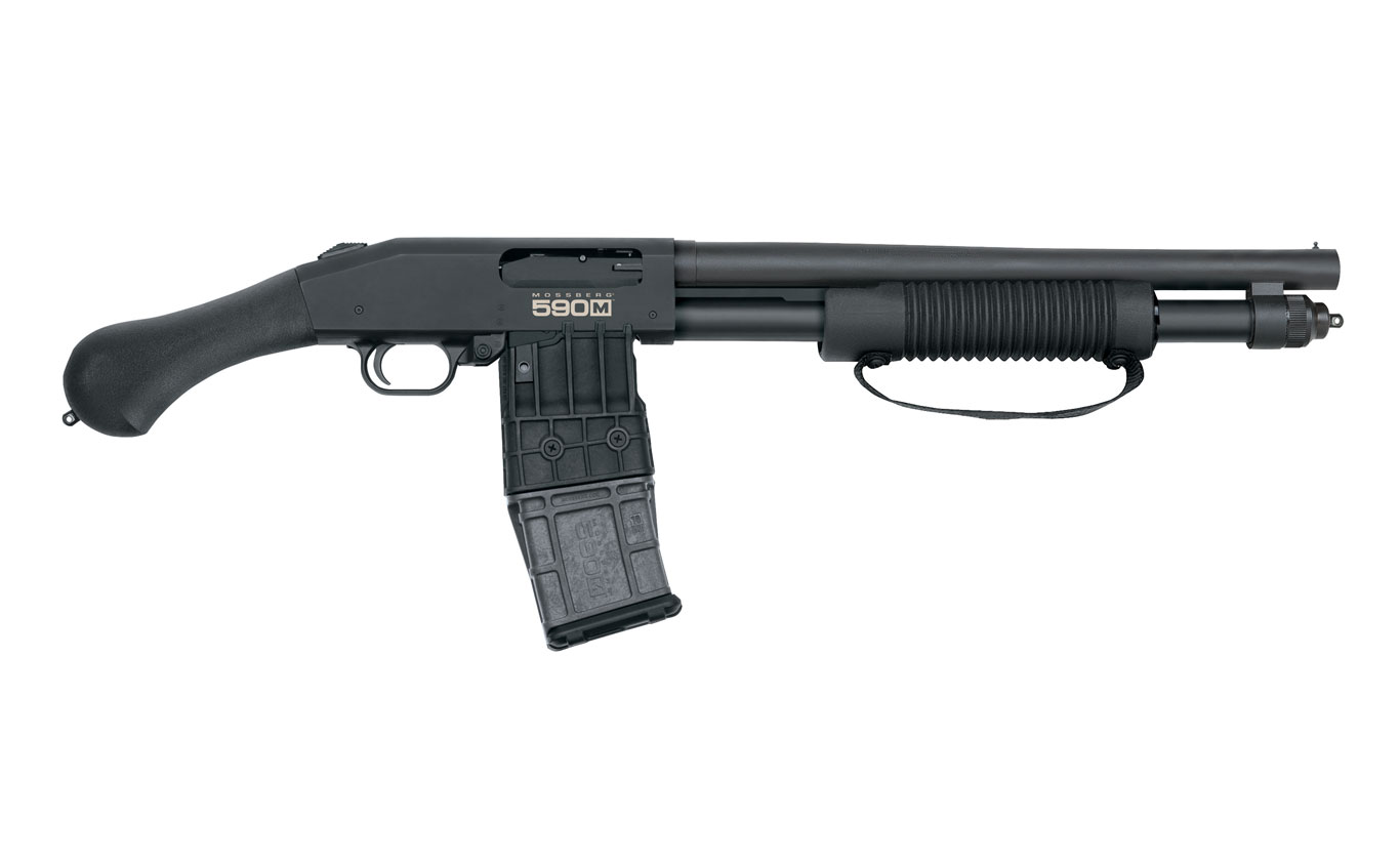 Mossberg Introduces 590M Shockwave 12-Gauge Pump-Action