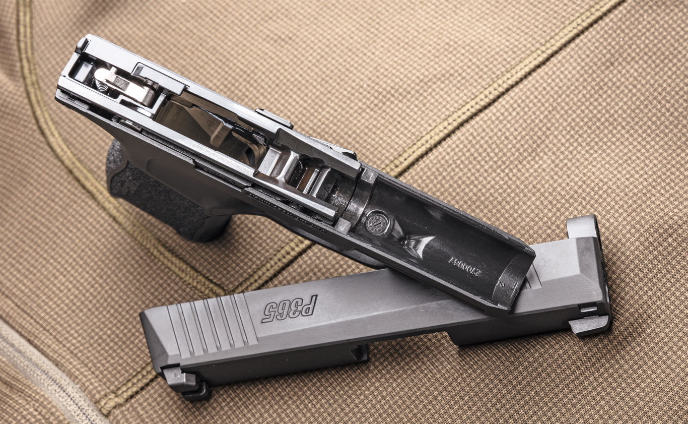 Though the P365 has a removable and serialized chassis, it is not intended for modular use as the P320 is.
