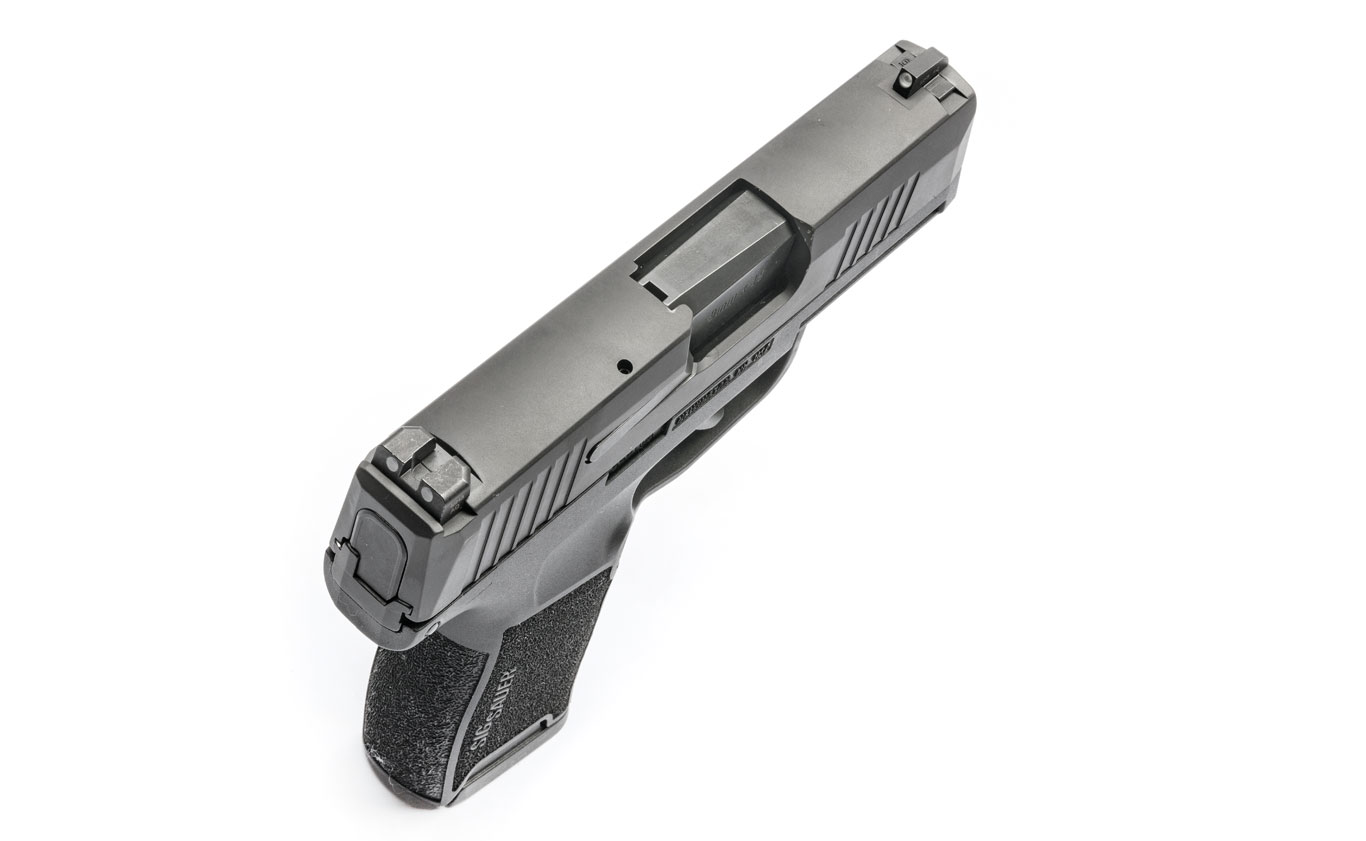 SIG Sauer created the P365 around a flush-fit, tapered magazine. They hold three patents for the design of the magazine's body and follower.