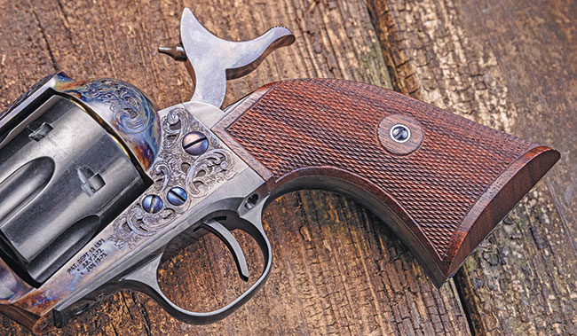 Review: Standard Manufacturing SA Revolver Engraved