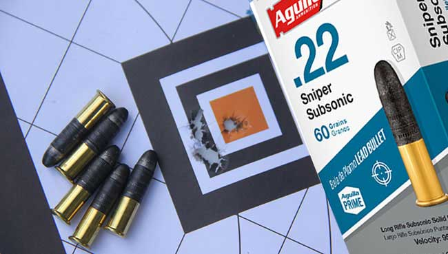 Aguila Sniper SubSonic Performance