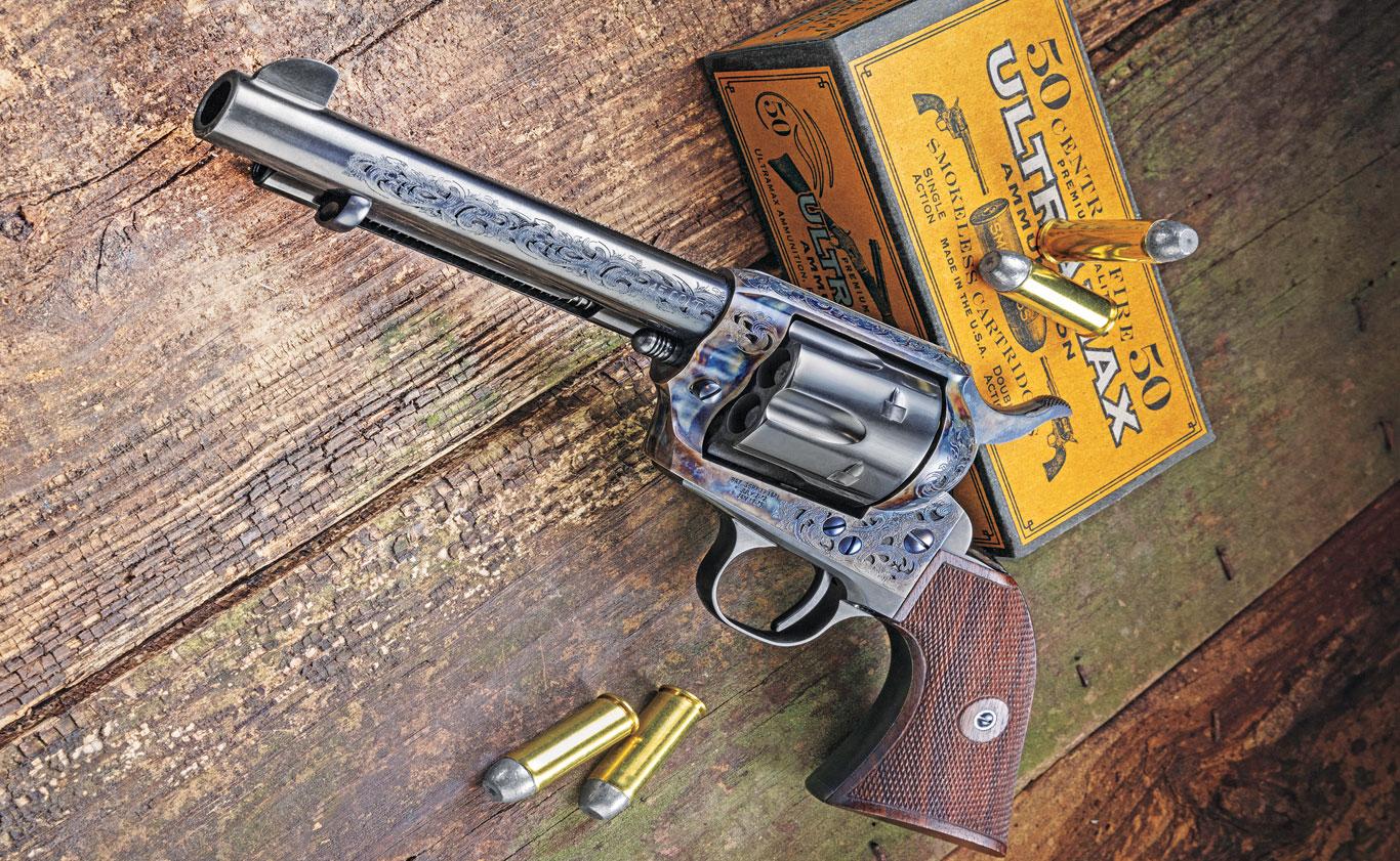 Standard Manufacturing SA Revolver Engraved